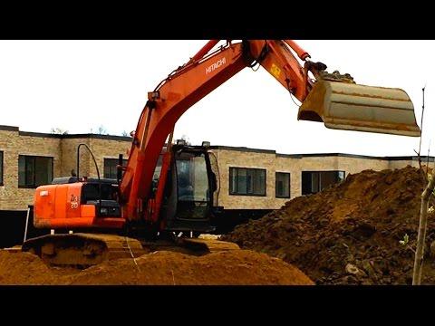 Gravko: samling af gravemaskiner for børn 2