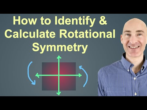 How to Identify and Calculate Rotational Symmetry