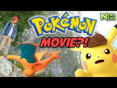 Live-Action Pokemon Movie is HAPPENING!
