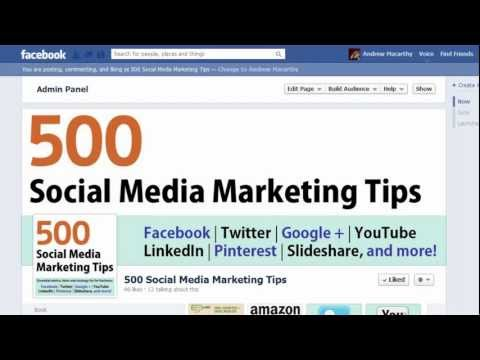 How to Change Facebook Fan Page URL Name | Edit Facebook Page Address