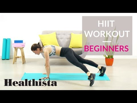 Fat burning home HIIT workout | Beginners
