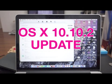 How to install OS X 10.10.2 Yosemite Update
