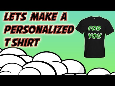 Making A Personalized T Shirt By T Shirt Printing With Vinyl