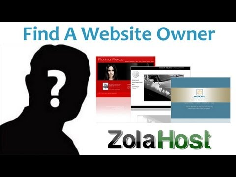 How To Find A Website Owner Information
