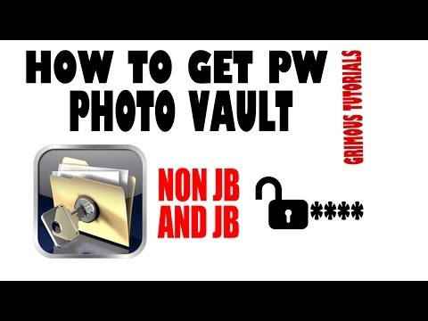 How To Get Anyone's Password For Photo Vault On IPad / IPhone / IPod (No JB And JB) Free