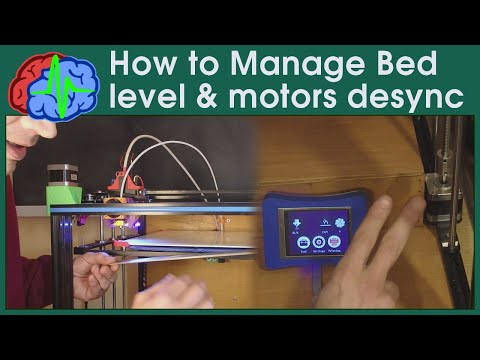 How to manage bed leveling and Z motors desync - 3d printing - Tronxy X5S and other - Sub EN