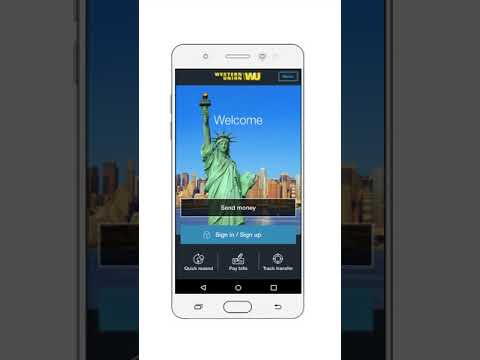 Send Money with the Western Union® US App