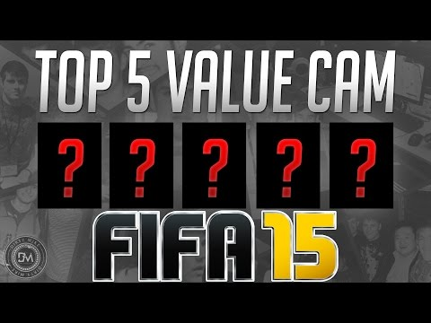 Top 5 Value CAM (Affordable) in FIFA 15 Ultimate Team (FUT) - Guide to the Best Cheap Squad