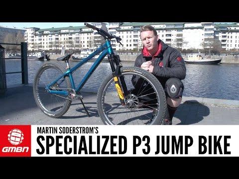 Martin Soderstrom's Specialized P3 Dirt Jump Bike   GMBN Pro Bikes