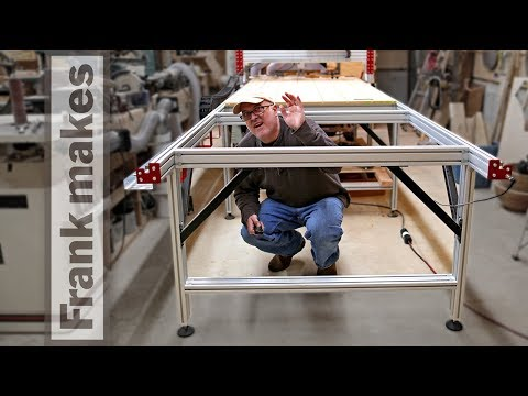 Adding Four Feet to My CNC Router Parts 4' x 8' CNC Router