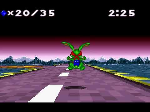 DOS Game: Jazz Jackrabbit - Holiday Hare 1994