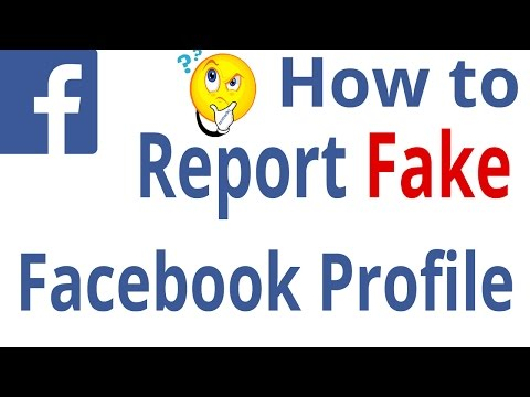 How to report fake facebook profile