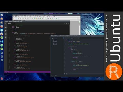 How to setup a development environment on Ubuntu [V.25.09.2016]
