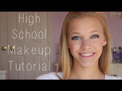 High School Makeup Tutorial♥