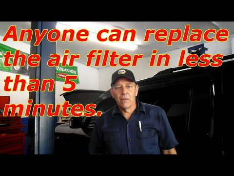 How to change the air filter on a 2012 Honda Pilot