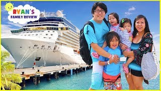 We're going on a Cruise!!! Family Fun Vacation Trip with Ryan's Family Review!!
