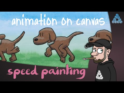 How to bring an animation to a real canvas