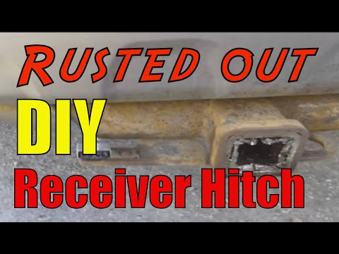 How to remove a rusted receiver hitch DIY