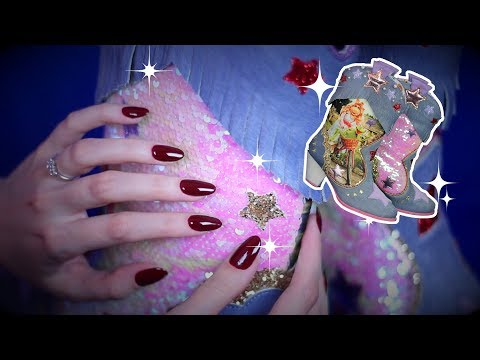✨ The Muppets Sequined Cowboy Boots✨ (ASMR soft spoken, hand movements)