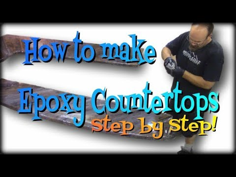 How to Make Epoxy Countertops Step by Step