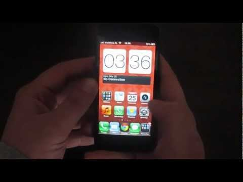 Android Widgets on iPhone 5