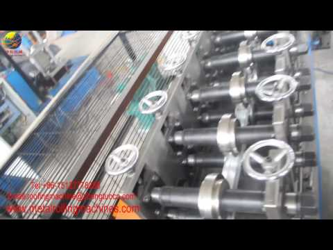 Fully automatic metal box frame making rolling forming machine