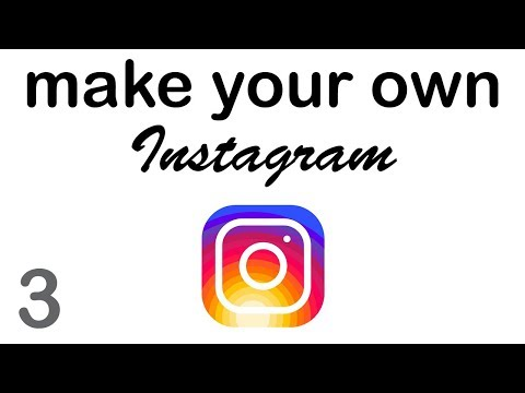 Make your Own Instagram - Login & Signup (3/10)