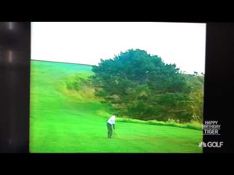 Tiger Woods - 2000 US Open - 7 Iron on 6th Hole at Pebble Beach