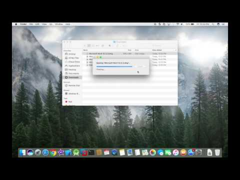How to install Microsoft Office on MAC (Macbook air,Macbook pro,Other apple products) Very Easy !!!