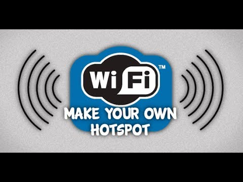 Turn Your PC Into A WIFI Hotspot