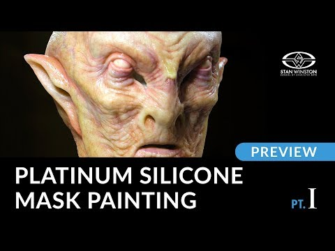 Platinum Silicone Mask Painting - Part 1 - PREVIEW