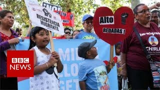 Zero-tolerance: The US policy dividing families and opinion - BBC News