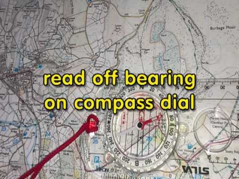 how to take a compass bearing