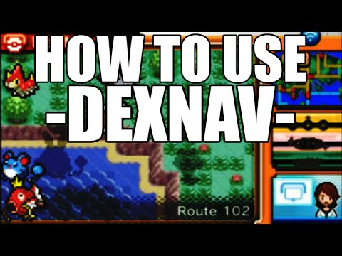 How to use the DexNav in Omega Ruby and Alpha Sapphire - DexNav Guide ORAS