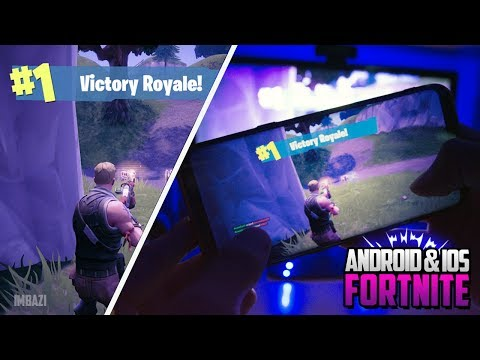 How To Play Fortnite Battle Royale on iOS & Android! (Fortnite on Android & iOS Devices) iPhone/iPad