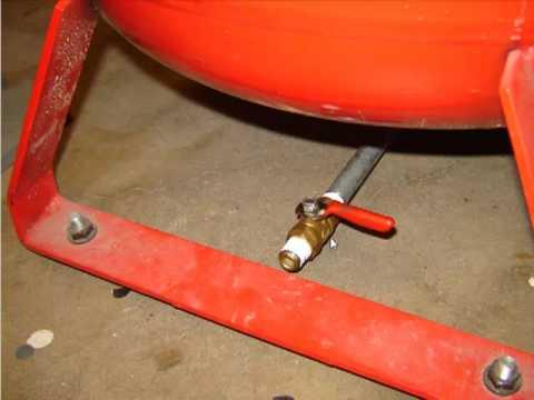 diy compressor drain