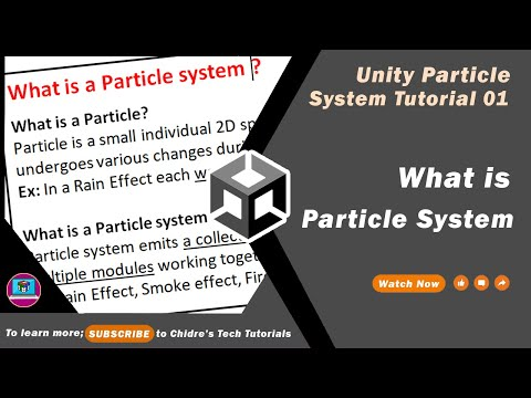 Unity Particle System Essentials - 01 - Introduction to Particle System