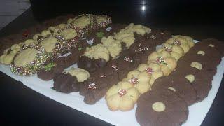 #x202b;طريقة عمل بيتيفور العيد بالفانيليا والشوكولا...#x202c;lrm;
