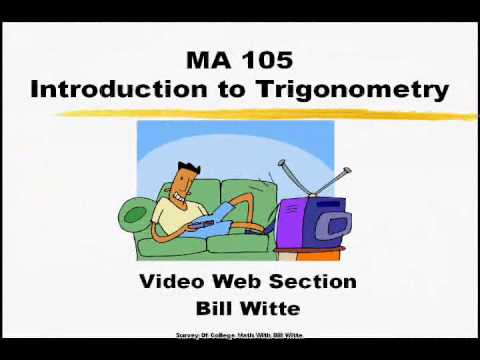 MA105 Class Orientation Video