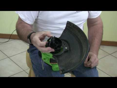 Restring a Dual Feed Trimmer