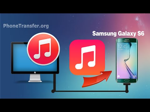 [iTunes to Galaxy S6 Edge]: How to Sync Music & Playlist from iTunes to Samsung Galaxy S6, S6 Edge