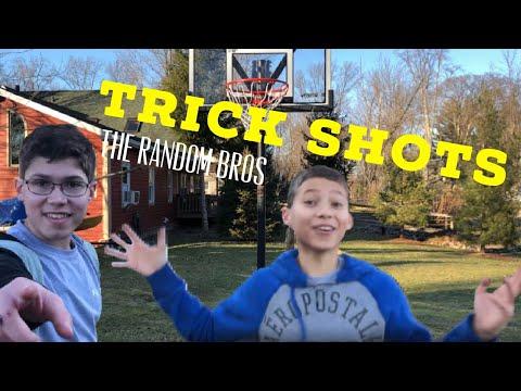 TRICK SHOTS!!!! - The Random Bros
