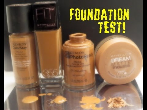 The Foundation Test - How to determine your shade.