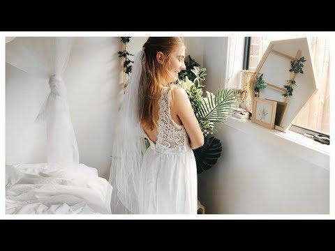 Trying Ebay Wedding Dresses UNDER $20!!