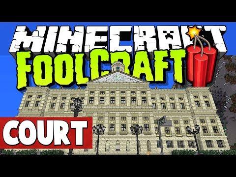 Minecraft FoolCraft 3 - Court Case! [RenDog Vs Stress]