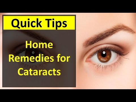 Home Remedies for Cataracts