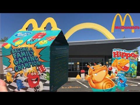 McDonald's Hasbro Gaming Happy Meal | Beach Food Review