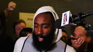 """James Harden Calls Out Rockets Teammates After Loss To Warriors in Game 1 """"I Can"""