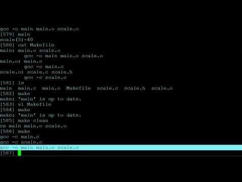 Quick Intro to Makefiles