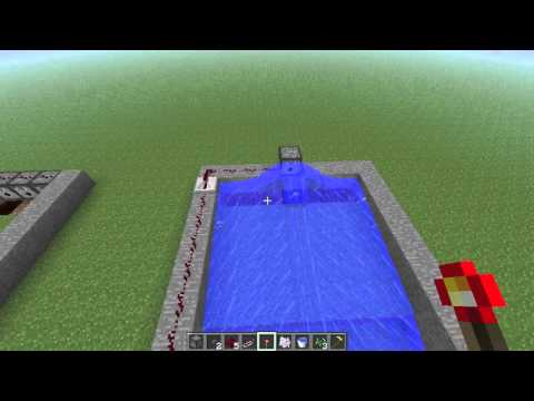 Minecraft New and Improved Wheat Farm Tutorial